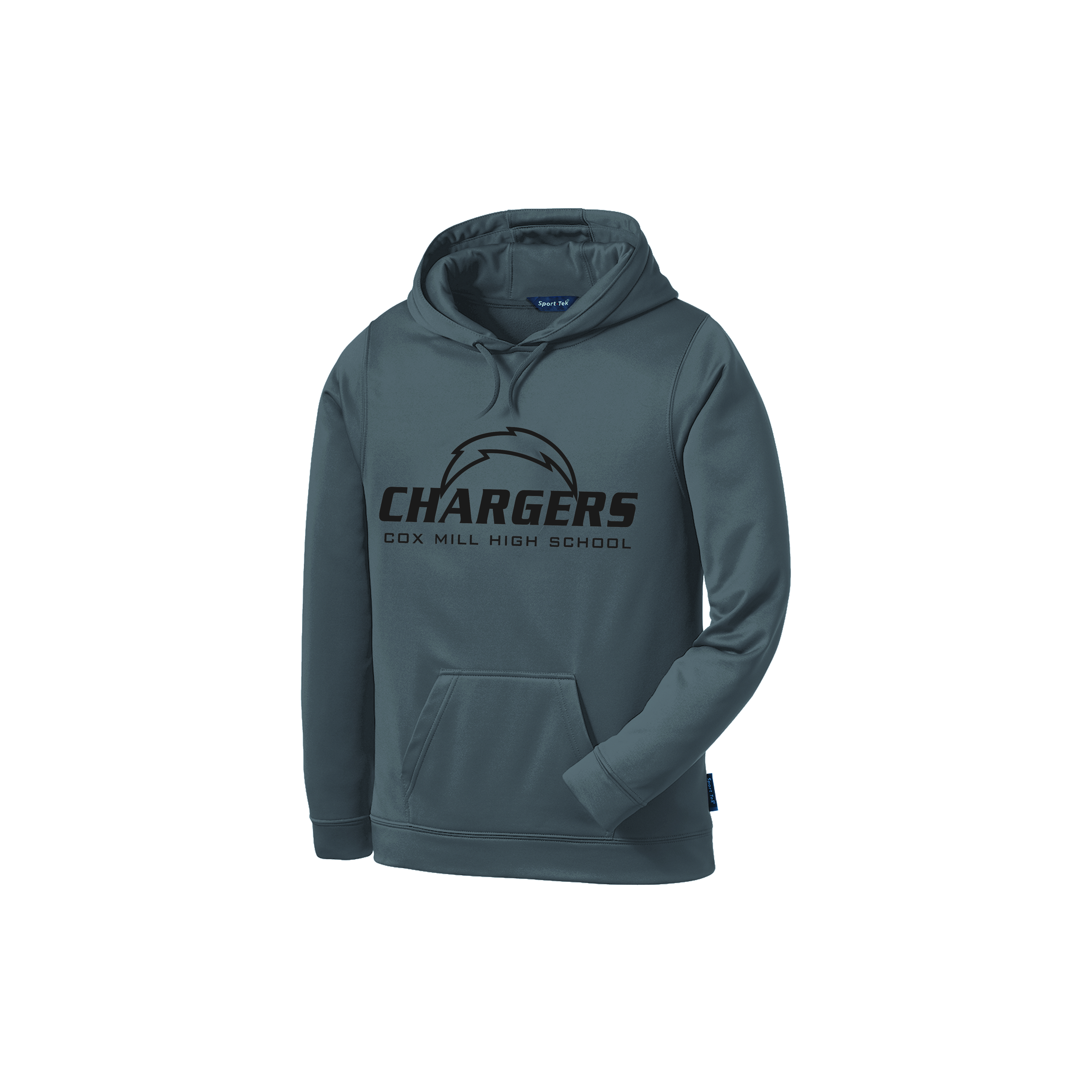 Adult Cox Mill Laser Etched Sport-Wick Fleece Hooded