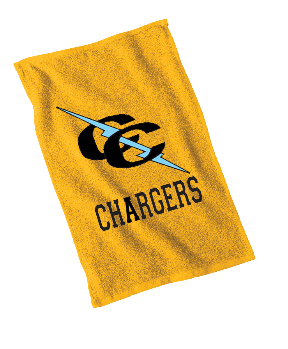 Chargers Rally Towel- Gold-2